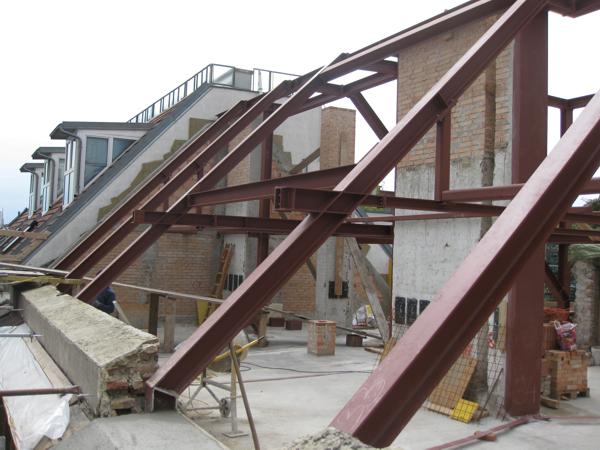 Dachgeschoßausbau Ennsgasse